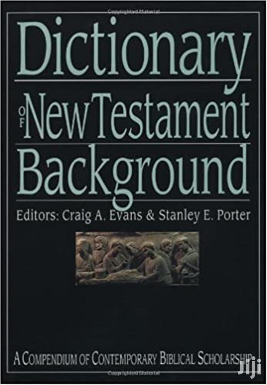 Dictionary of New Testament Background- Craig A. Evansans