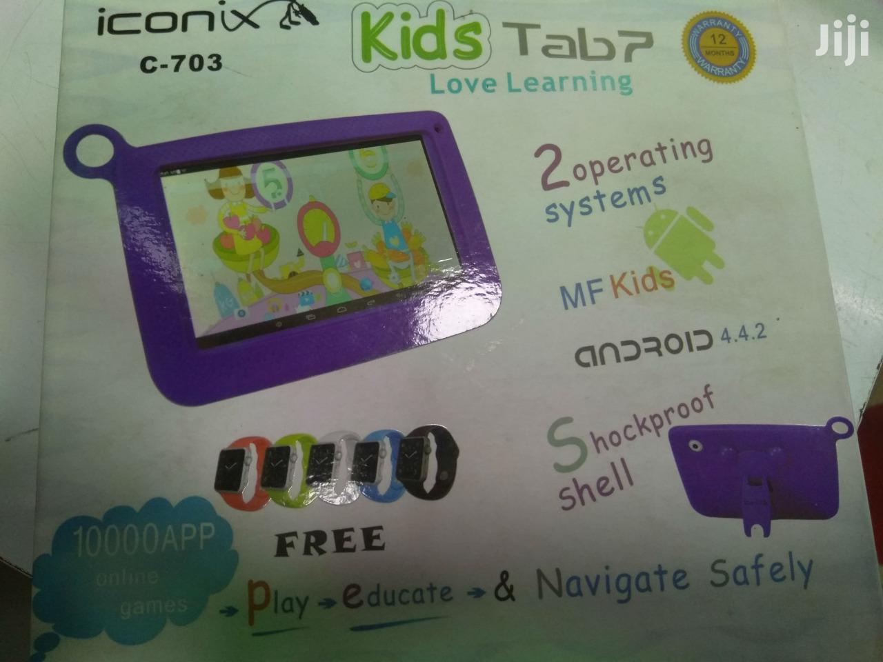 Kids Tablet Iconics 7.0 Inch - Android 5.1 Kids Tablet