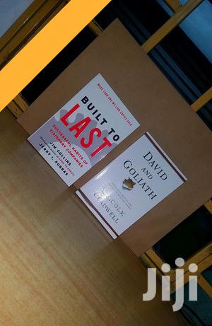 Built To Last By Jim Collins And David And Goliath | Books & Games for sale in Nairobi, Nairobi Central