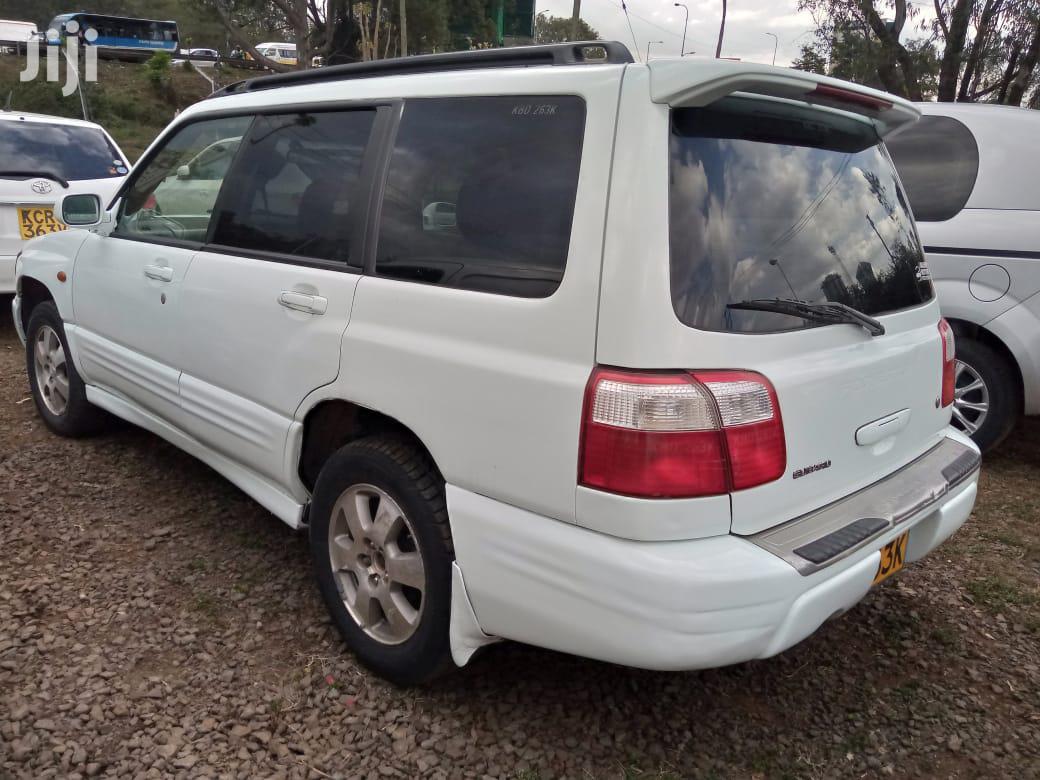 Subaru Forester Automatic 2002 White | Cars for sale in Nairobi Central, Nairobi, Kenya