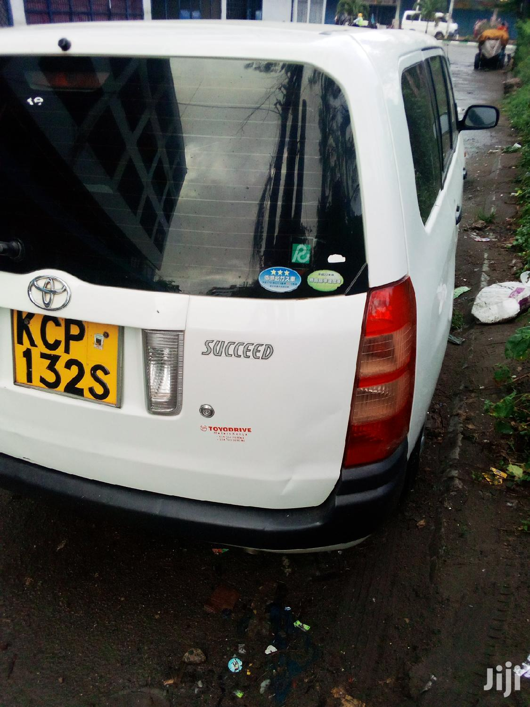 Toyota Succeed 2010 White | Cars for sale in Kisauni, Mombasa, Kenya