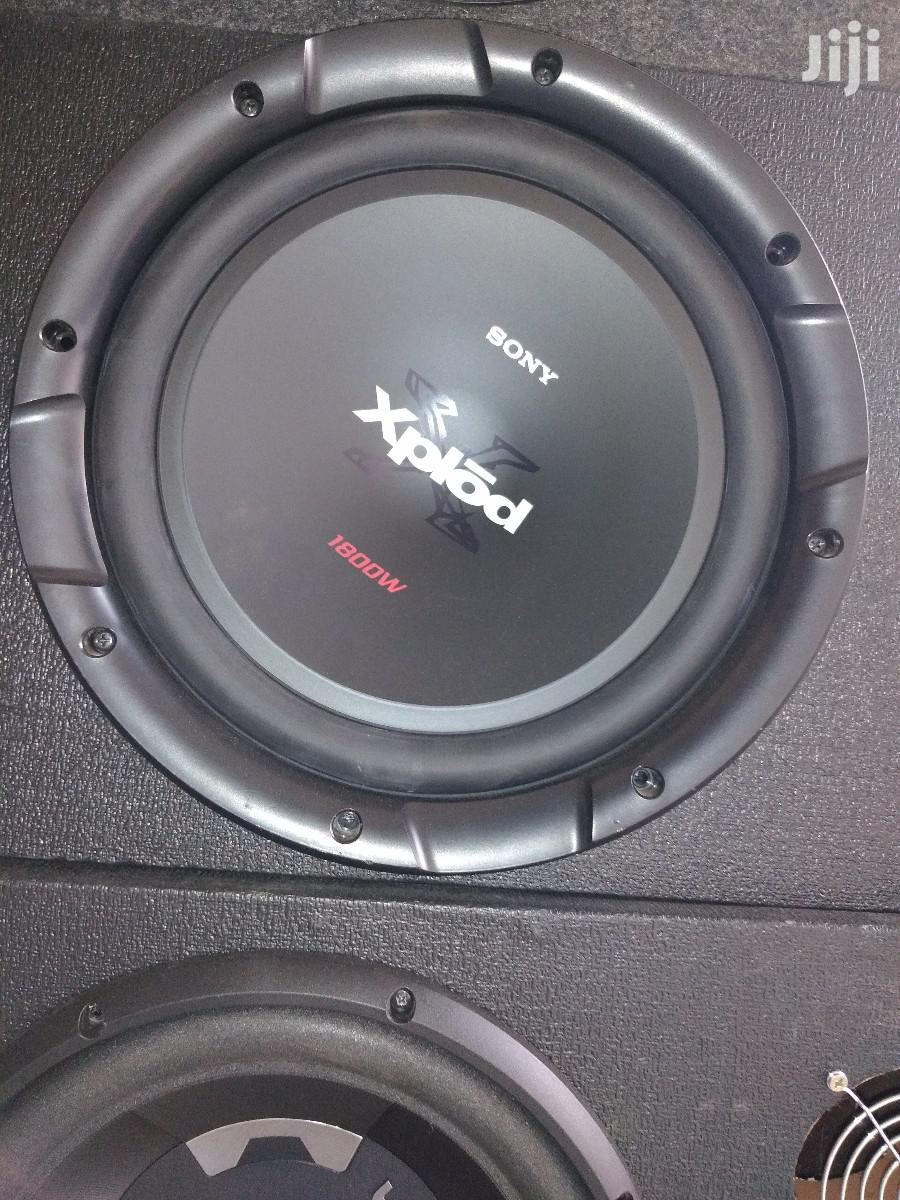 "Sony Xplod 12"" Car Bass Speaker"