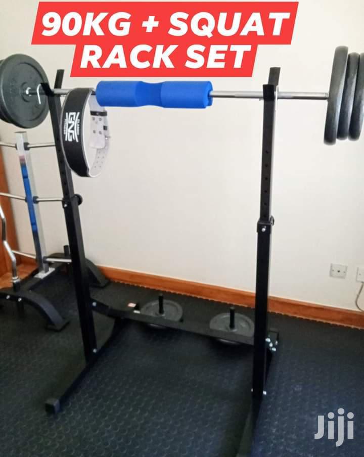 Archive: 90KG Squat Rack Set