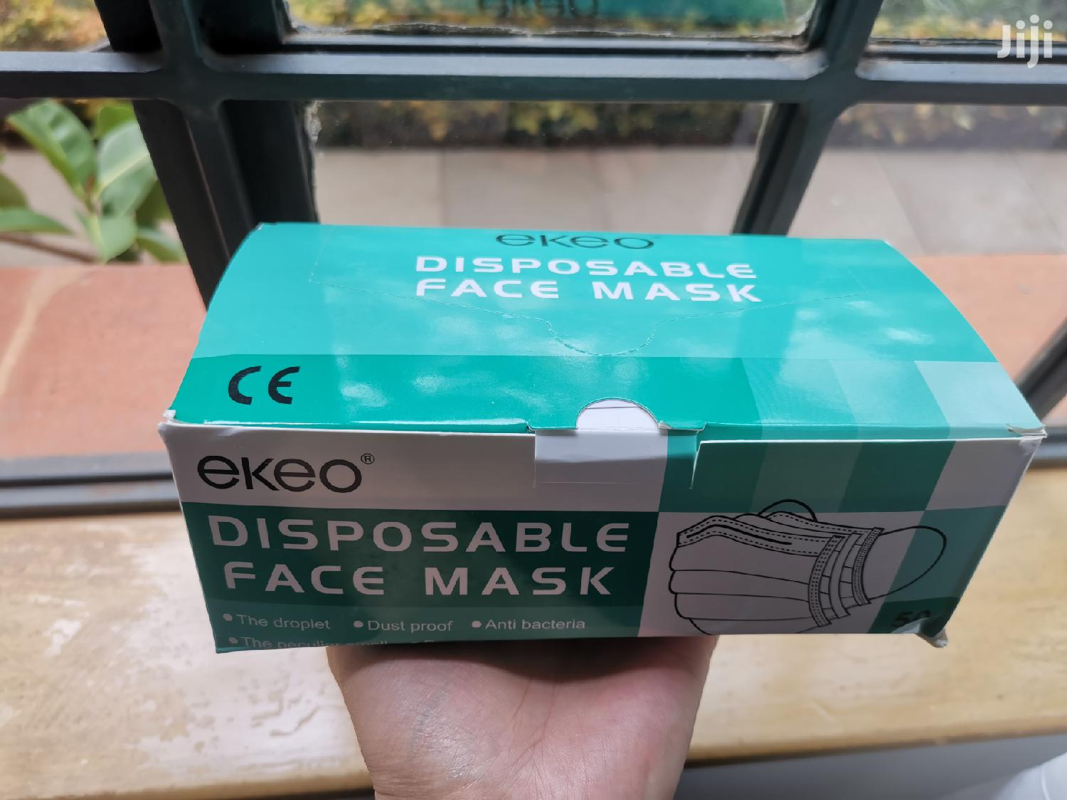 50 Pcs Three Layers High Quality Disposable Face Masks | Skin Care for sale in Westlands, Nairobi, Kenya