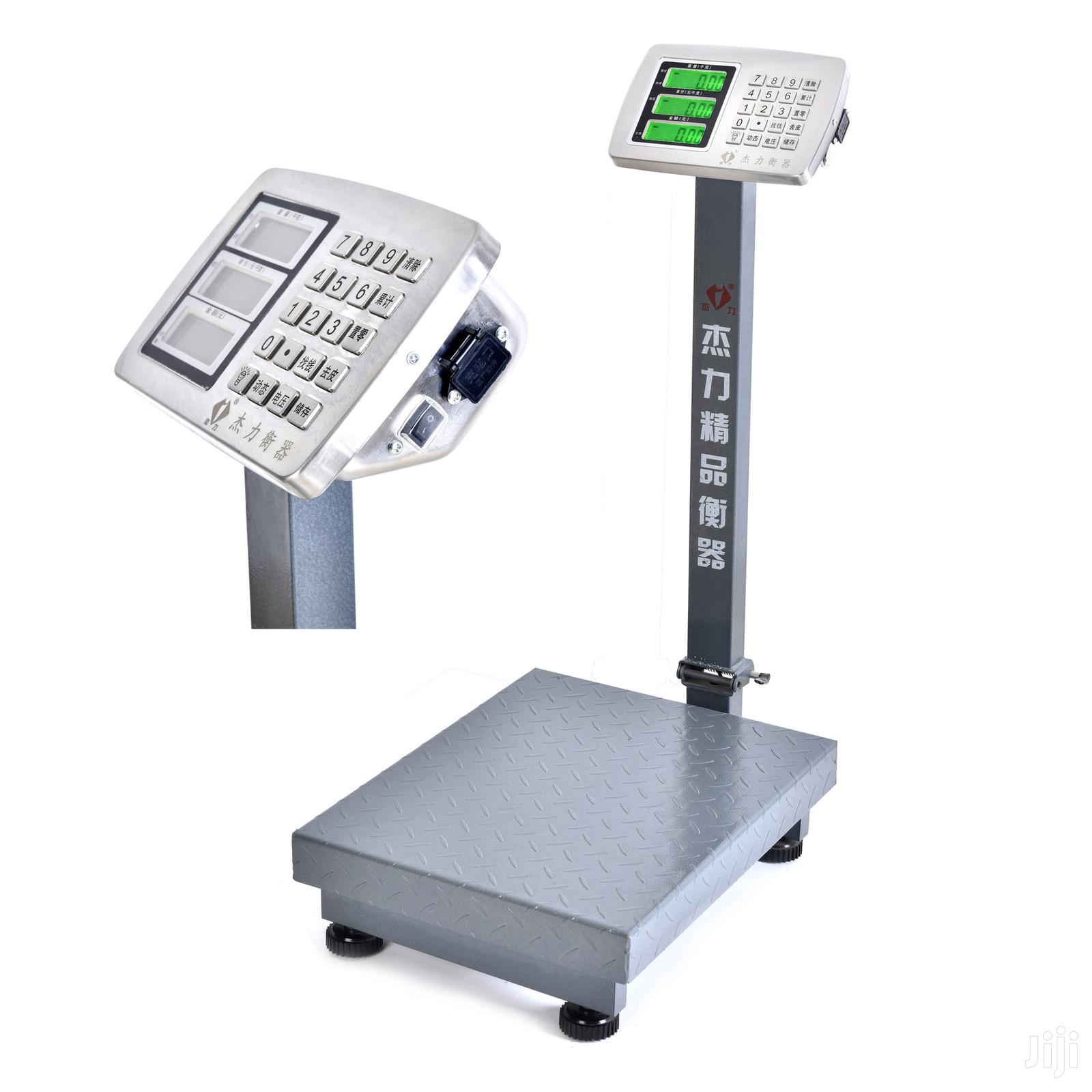 TCS 100kg 150kg 300kg Digital Platform Weighing Scale With C