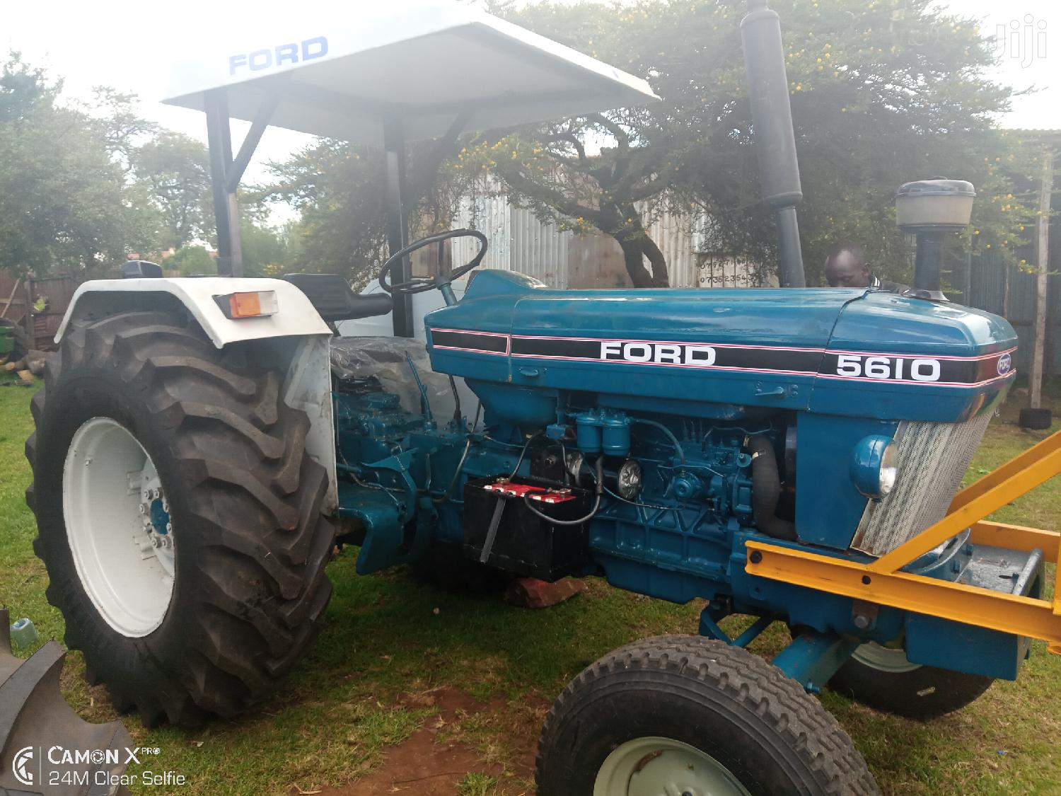 Ford 5610 Tractor 1986 Blue For Sale