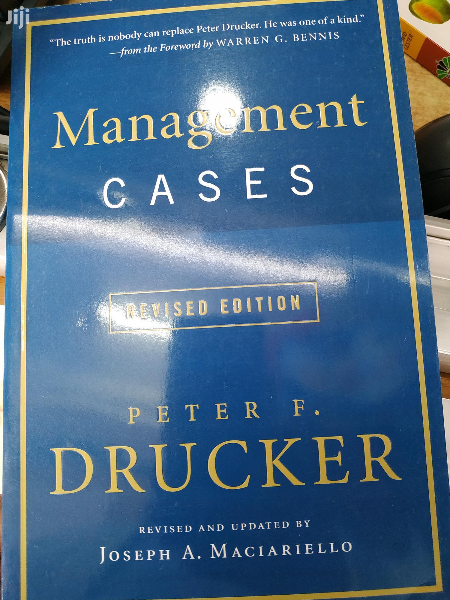 Management Cases - Peter Drucker