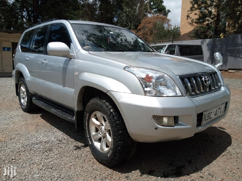 Toyota Land Cruiser Prado 2004 Silver