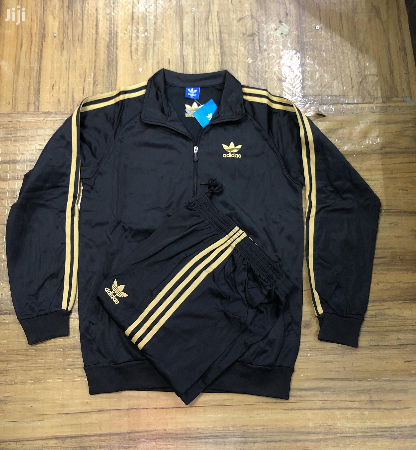 Gold Adidas Tracksuit | Clothing for sale in Nairobi Central, Nairobi, Kenya