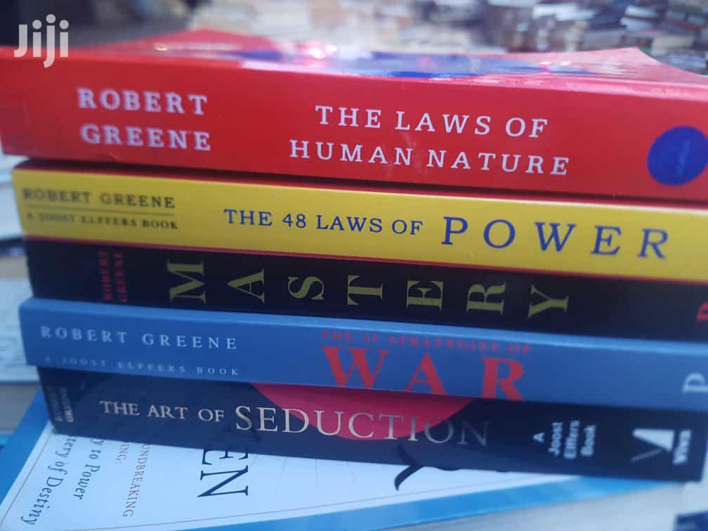Books By Robert Greene Are Available