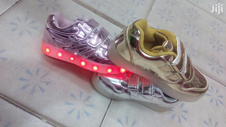 Girl's LED Sneakers | Children's Shoes for sale in Nairobi Central, Nairobi, Kenya