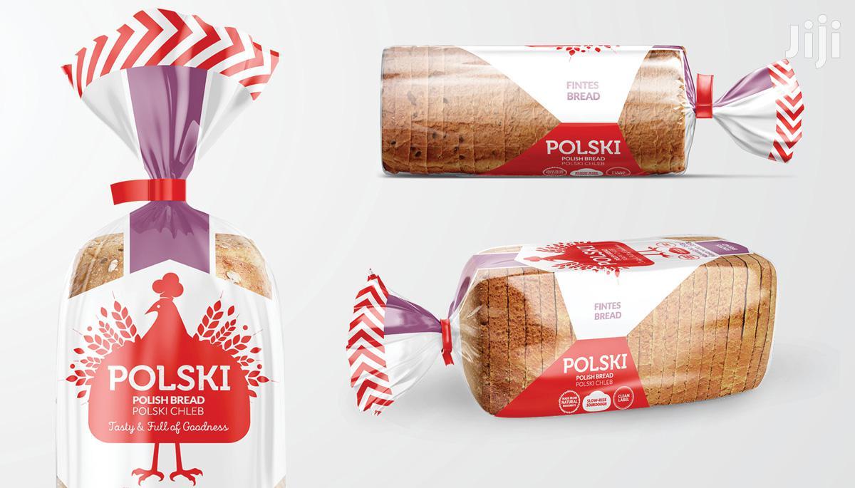 Bread And Cake Packaging Bags- MINIMUM ORDER 50000 PCS | Manufacturing Materials for sale in Embakasi, Nairobi, Kenya