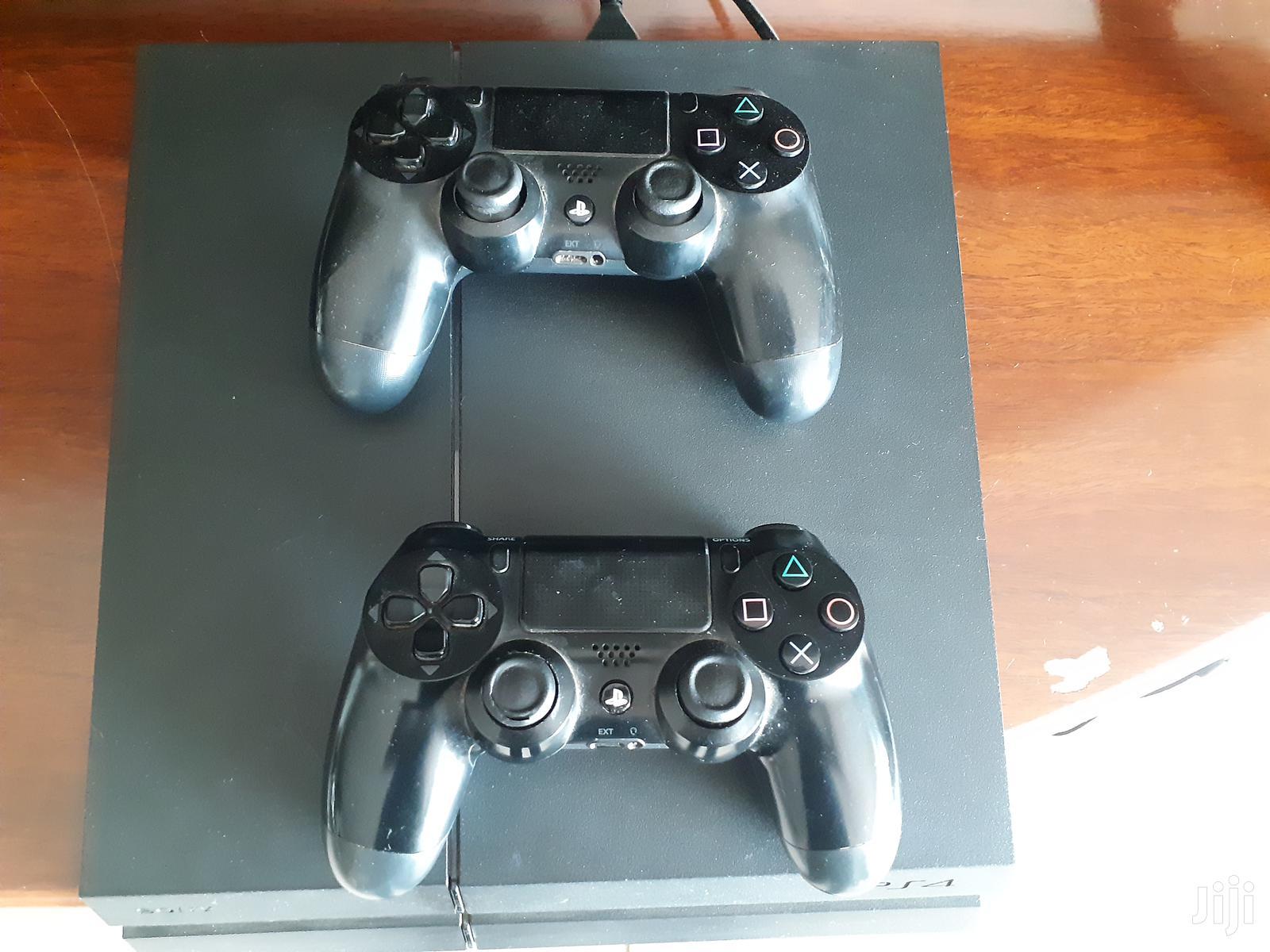 Archive: Ps4 Console With 2 Controllers Excellent Condition!