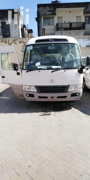 Toyota Coaster Bus 2013 White | Buses & Microbuses for sale in Mombasa, Kisauni