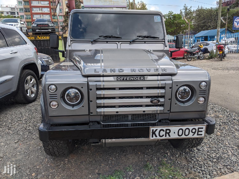 Land Rover Defender 2013 Gray