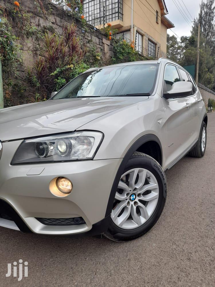 BMW X3 xDrive28i 2013 Gray