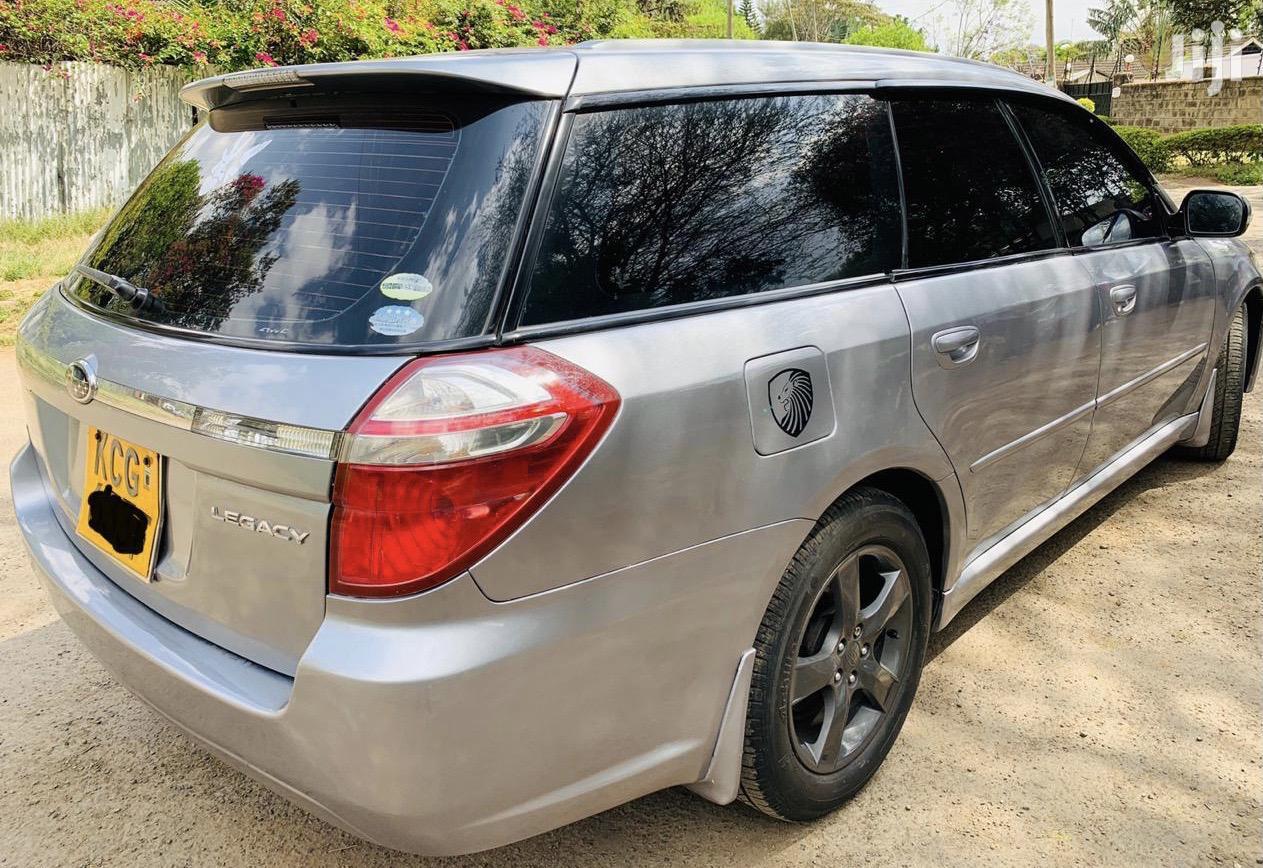 Subaru Legacy 2008 Gray