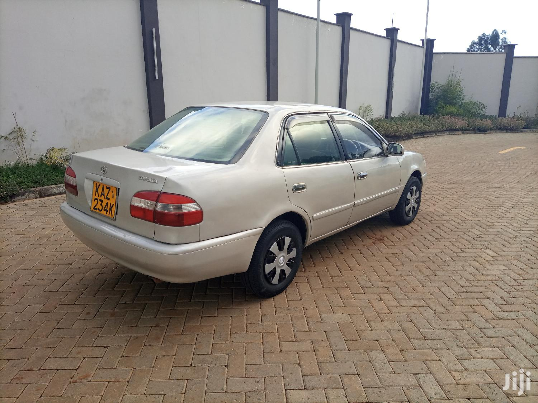 Archive: Toyota Corolla 1998 Silver