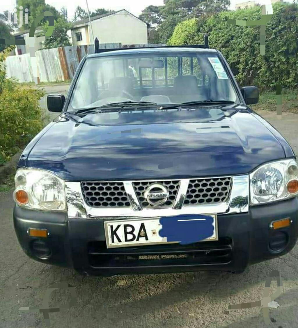 Archive: Nissan Hardbody 2008 Blue