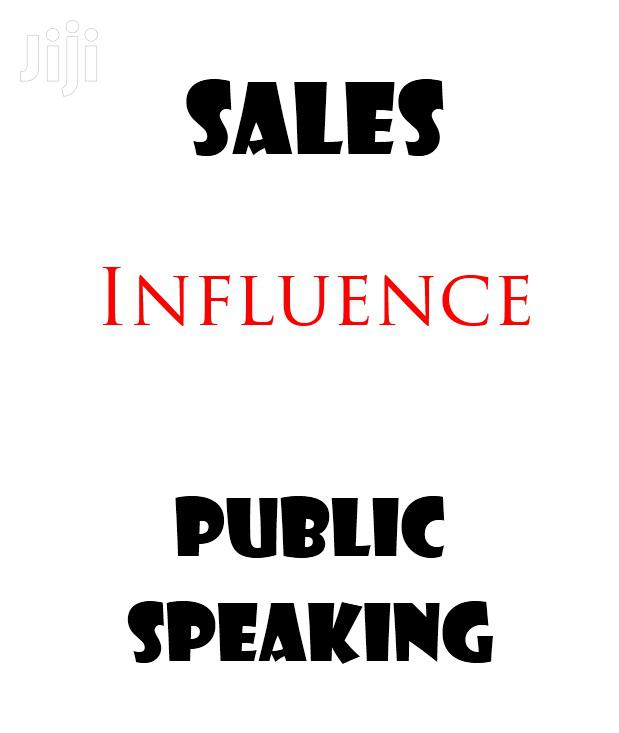 Sales, Influence And Public Speaking