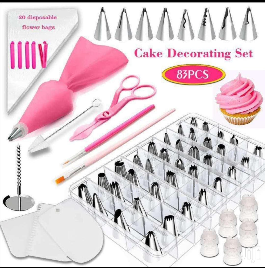 83 Cake Decorating Set