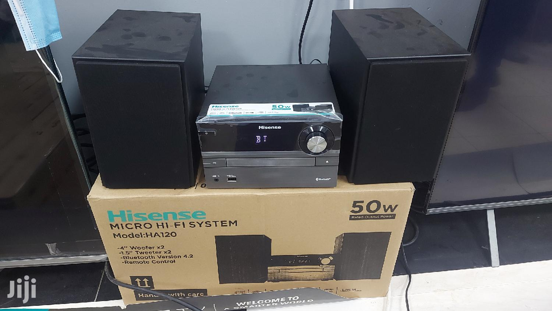 Hisense HA-120 Personal Radio With Fm/Cd/Bluetooth/Aux