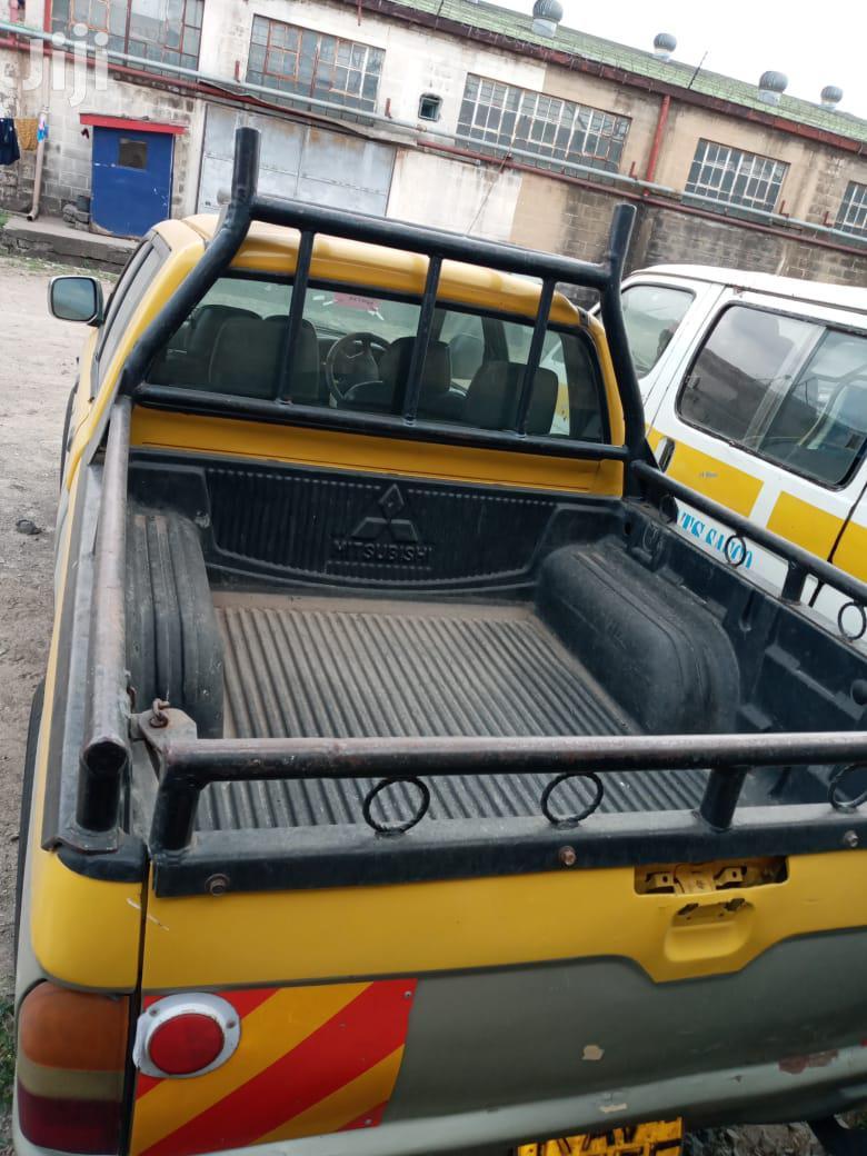 Mitsubishi L200 2001 Yellow | Cars for sale in Nairobi Central, Nairobi, Kenya