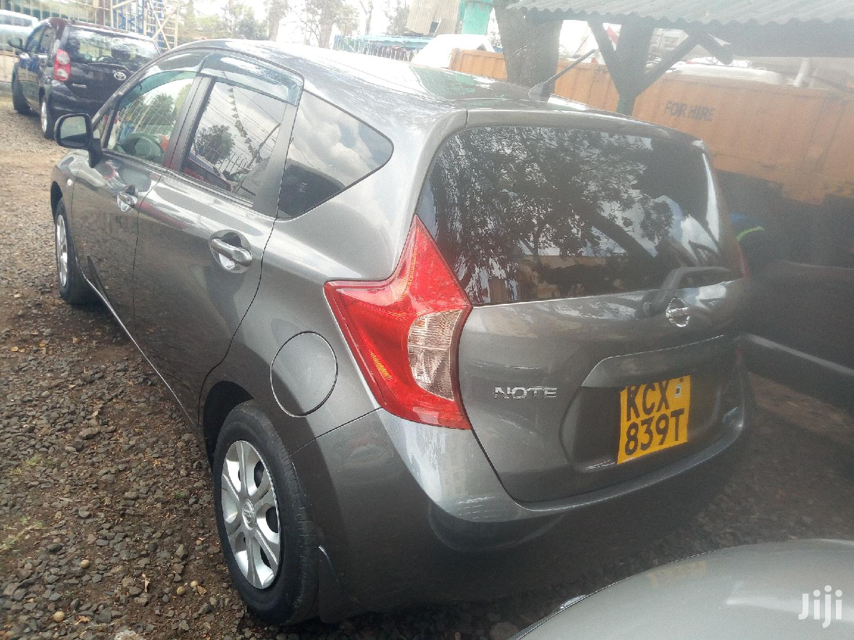Nissan Note 2012 1.4 Gray   Cars for sale in Woodley/Kenyatta Golf Course, Nairobi, Kenya