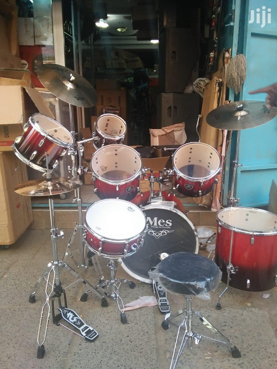 Mes 7 Piece Drumset Available