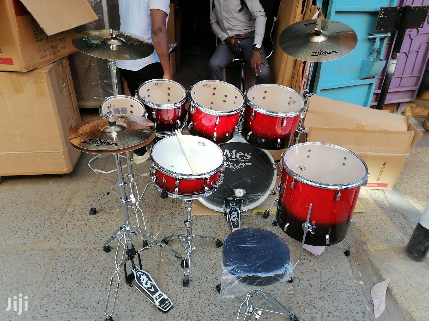 Mes 7 Piece Drumset Available | Musical Instruments & Gear for sale in Nairobi Central, Nairobi, Kenya