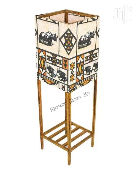 Archive: African Floor Standing Lantern Lampshade