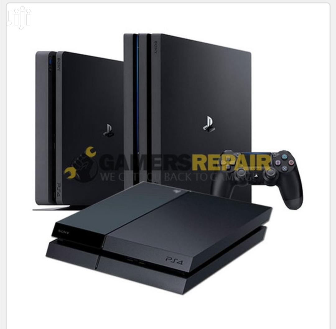 Ps 4 And Consoles Repair