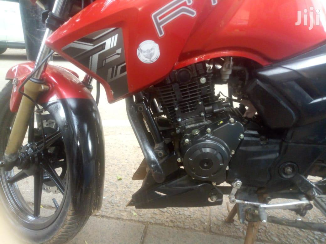 TVS Apache 180 RTR 2018 Red