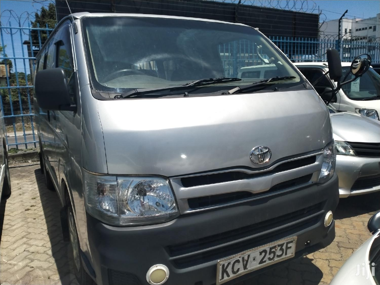Selling Toyota Hiace Used Ad New In Mombasa Kenya