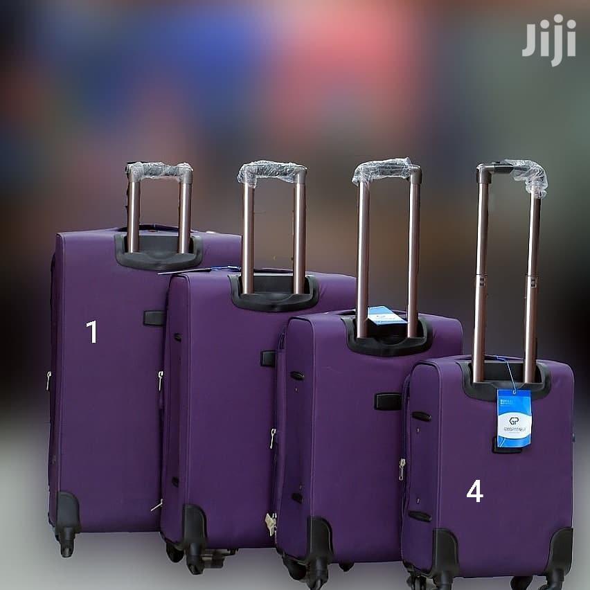 4 Pc Premium Suitcases Each Size Has Its Price