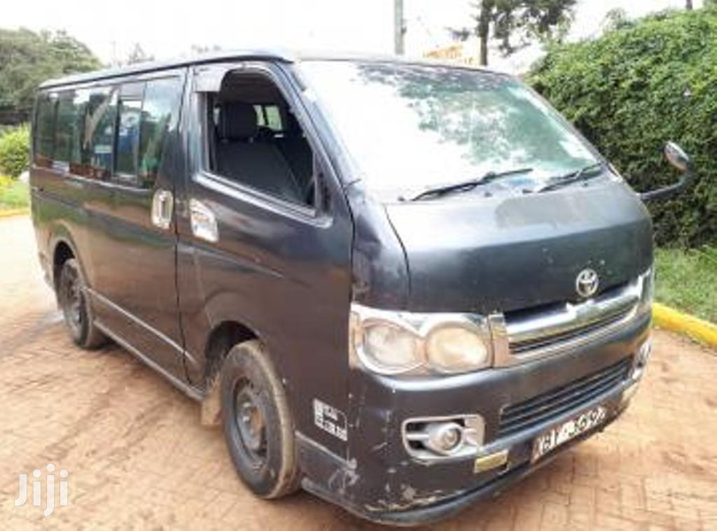 2007 Toyota Hiace 14 Seater KBY 2KD