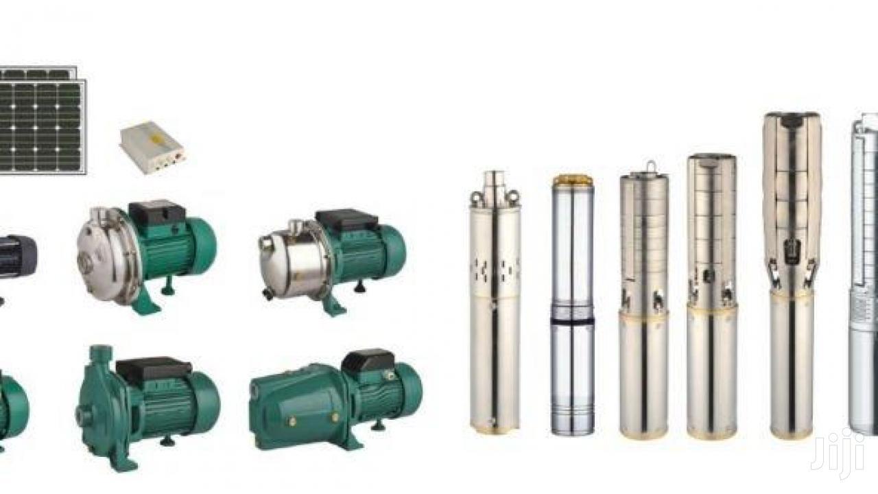 Solar Pumps For Irrigation