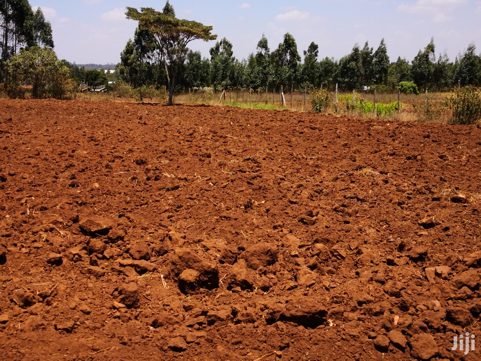1 Acre for Sale in Kamangu Kikuyu Kiambu Next to Tarmac.