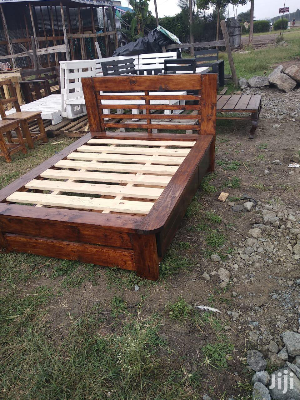 Pallet Bed//Box Bed//Flat Beds | Furniture for sale in Membley Estate, Kiambu, Kenya