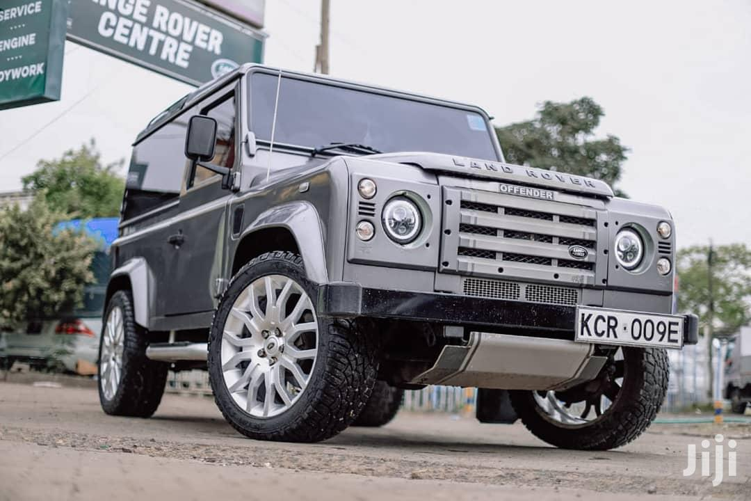 Land Rover Defender 2013 Gray