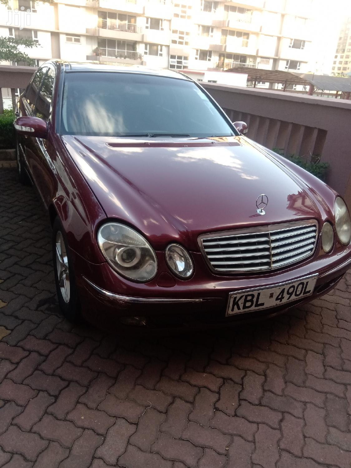 Archive: Mercedes-Benz E320 2003 Red