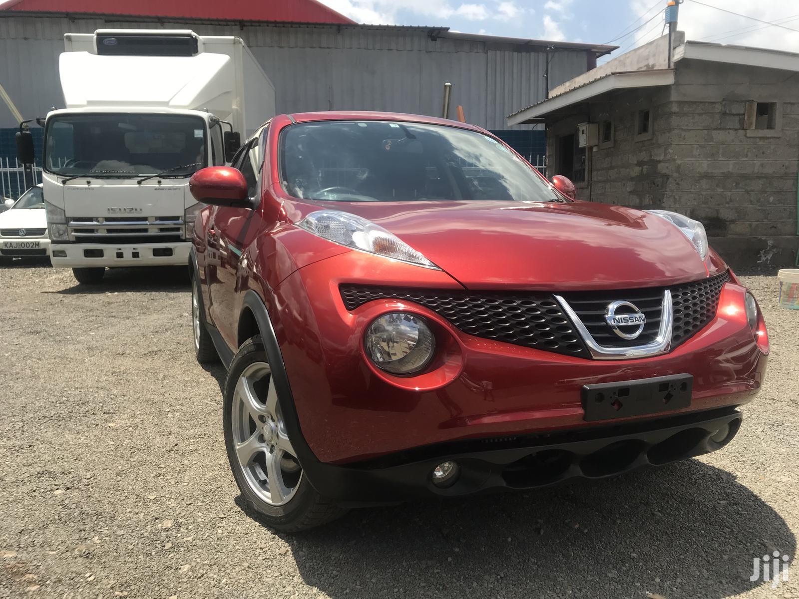 Nissan Juke 2013 Red