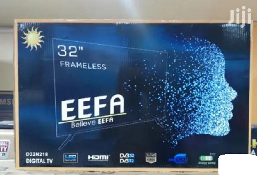 32 Inch FRAMELESS Digital Inbuilt Decoder LED EEFA TV