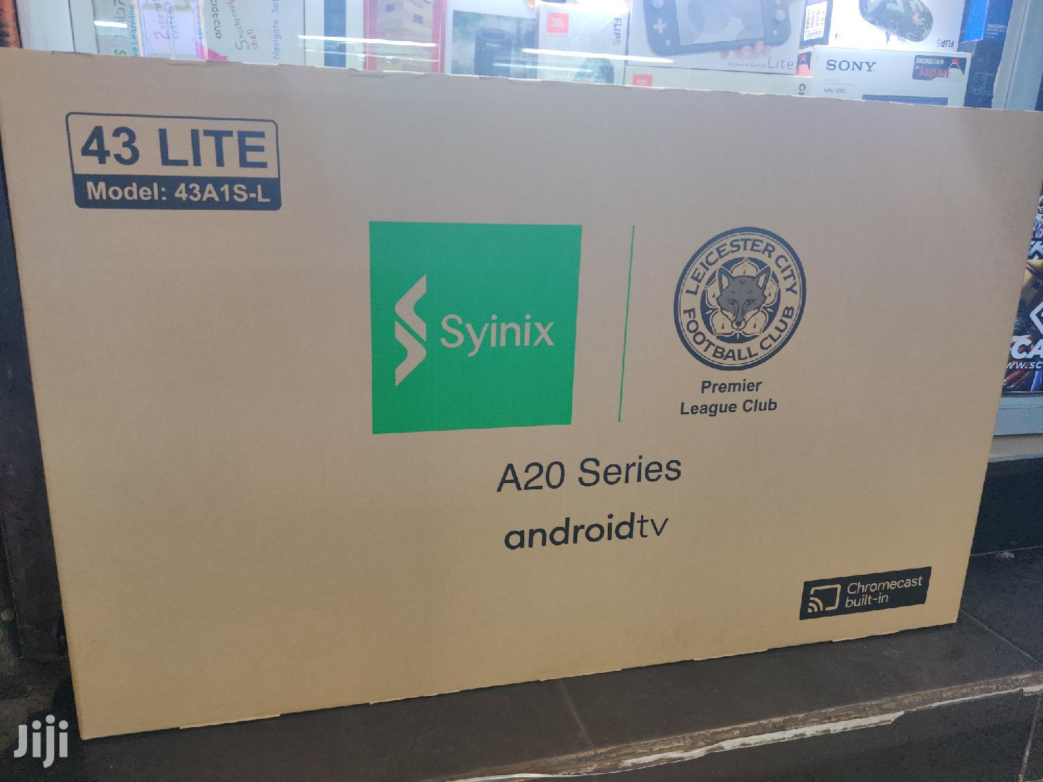 "Syinix 43"" Smart Android Tv"