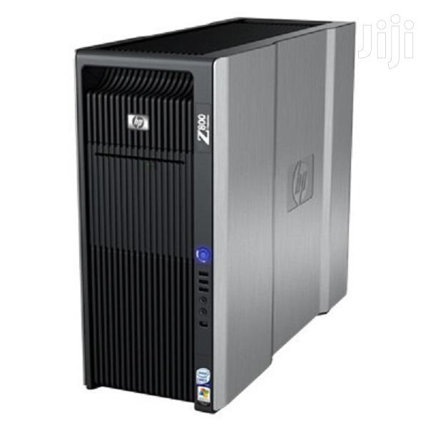Desktop Computer HP Z800 24GB Intel Xeon HDD 320GB