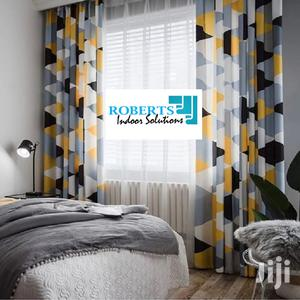 Decorative Yellow and Grey Curtains   Home Accessories for sale in Nairobi, Nairobi Central