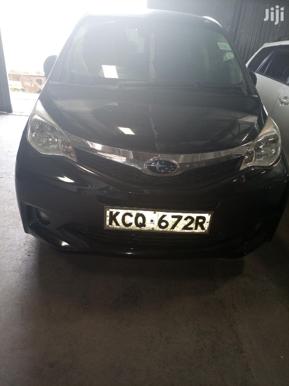 Subaru Trezia 2011 Black