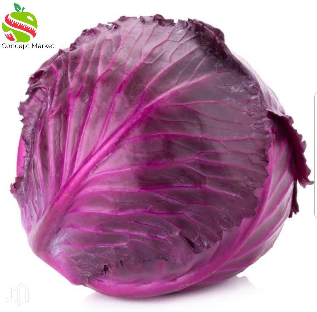 Archive: Farm Fresh Red Cabbage. Price Per Kg 95