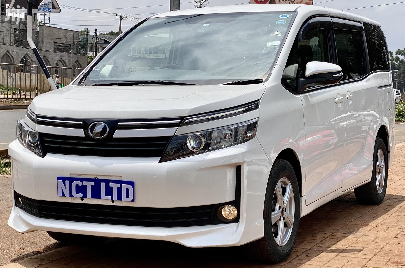 Toyota Voxy 2014 White   Cars for sale in Kilimani, Nairobi, Kenya