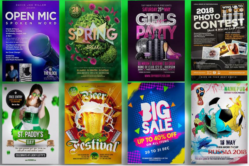 I Will Design Amazing Event, Party And Club Posters/Flyers Design